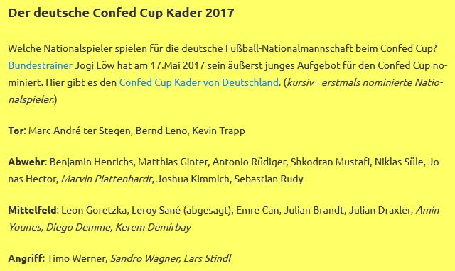 gewinner confed cup 2017